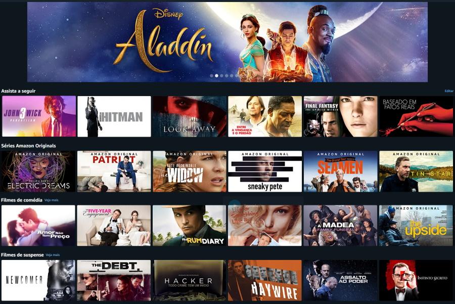 Amazon Prime: serviço de filmes, séries, músicas e livros, continua por R$ 9,90 mensais
