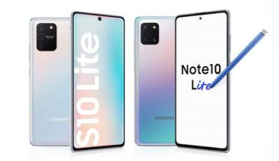 Samsung Galaxy S10 Lite e Note 10 Lite valem a compra?