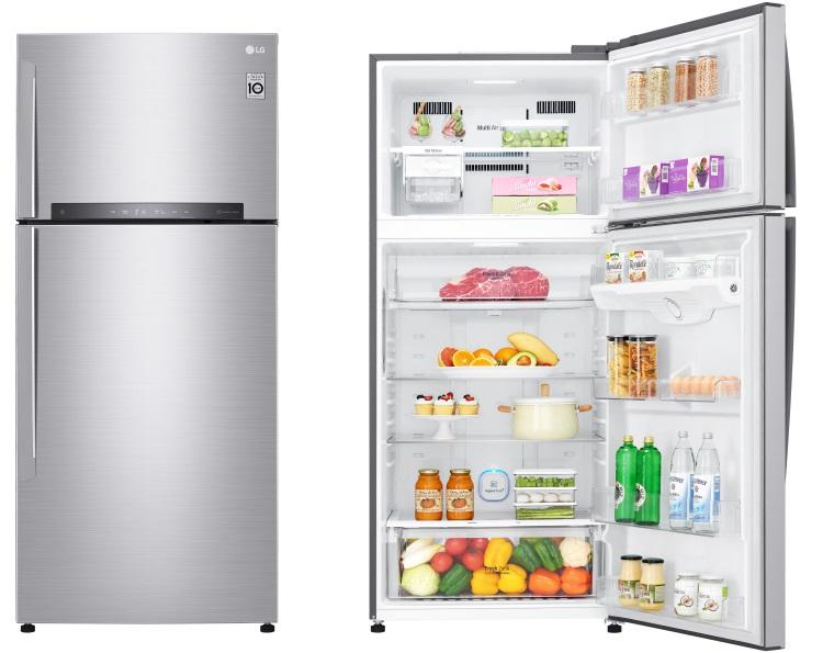Geladeira Smart LG Top Freezer Inverter 438 litros com Nature Fresh