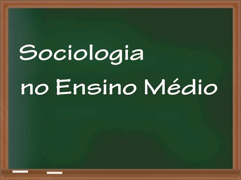 Ensino de sociologia