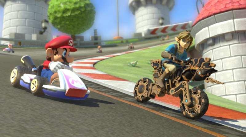 1691 - The Legend of Zelda: Breath of the Wild llega a Mario Kart 8 Deluxe