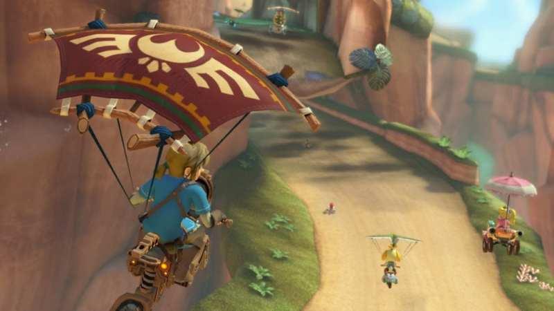 16925395543095281418569 - The Legend of Zelda: Breath of the Wild llega a Mario Kart 8 Deluxe