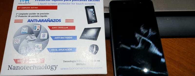 Review: Toro Nanotec, protector de pantalla líquido