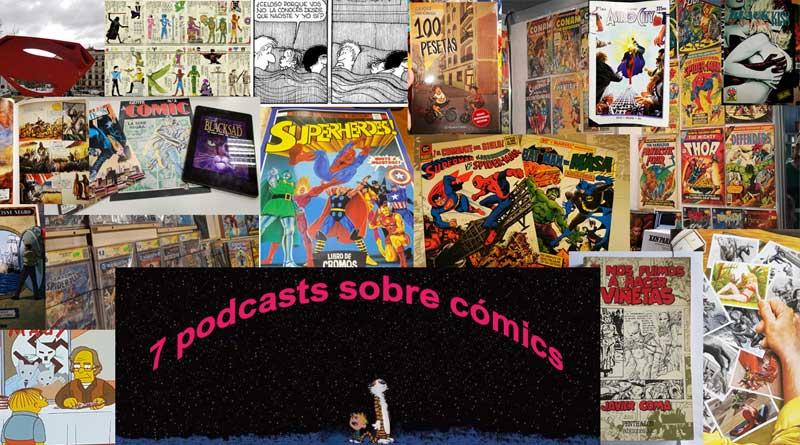 7 podcasts sobre cómics