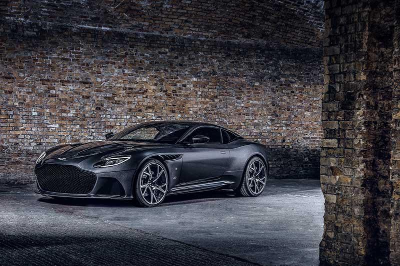 Aston Martin DBS Superleggera 007 Edition 01 - Aston Martin crea una edición limitada 007 de coches deportivos para celebrar el estreno de No Time To Die