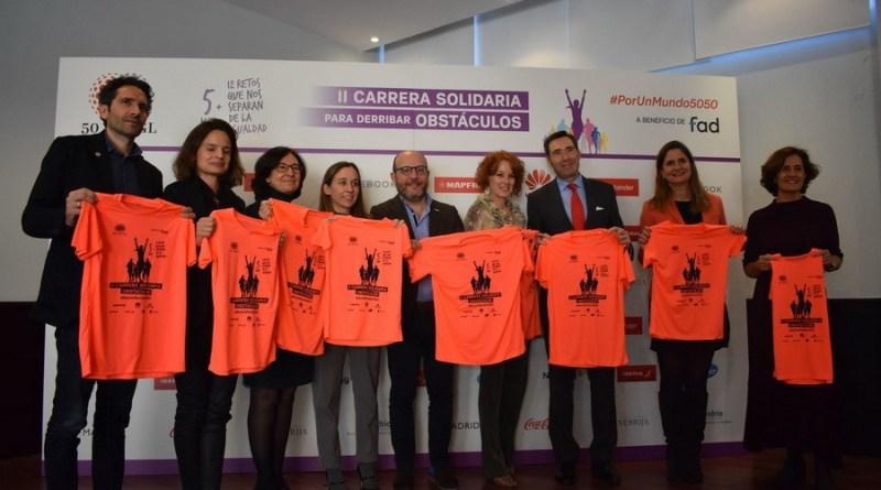 Carrera Solidaria 5050 4 - Carrera Solidaria de Obstáculos #PorUnMundo5050 el 8 de marzo
