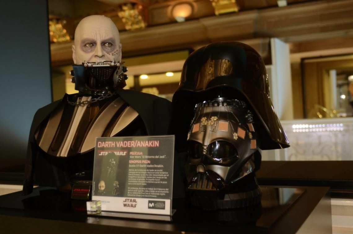 DSC 6266 - Telefónica presenta la única exposición con piezas originales autorizadas de la colección oficial de Star Wars