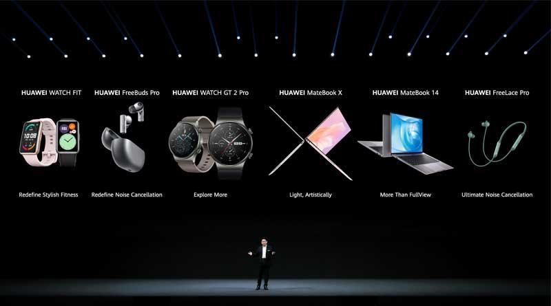 Dispositivos Huawei