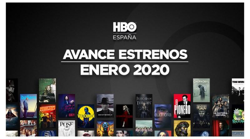HBO enero de 2020