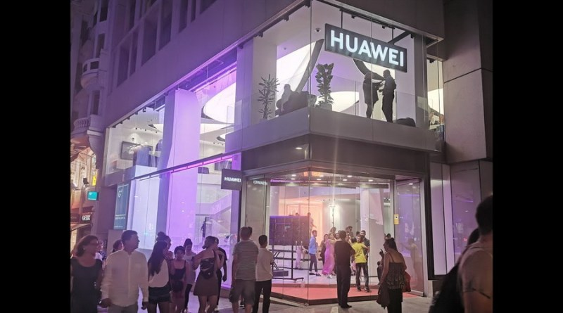 Espacio Huawei en Barcelona