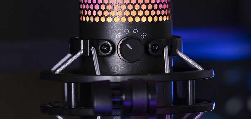 HyperX QuadCast2 - Lo mejor para el #InternationalPodcastDay: HyperX lanza el micrófono USB QuadCast S
