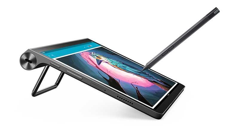 """Lenovo Yoga Tab 11 Tilt Mode Pen - Lenovo renueva su gama de tabletas y presenta una """"de cine"""""""