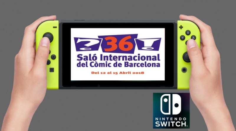 Nintendo Switch estará presente en el 36º Salón del Cómic de Barcelona