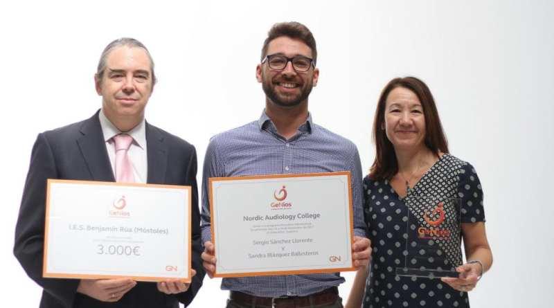 ReSound entrega los premios del primer 'Certamen GeNios,