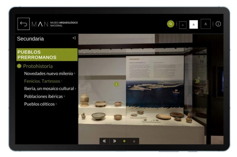 Presentación Man Aula Virtual 4 - El Museo Arqueológico Nacional llega a todas las aulas gracias a Samsung