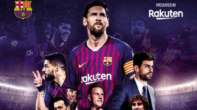 Rakuten estrena a nivel mundial Matchday - Inside FC Barcelona