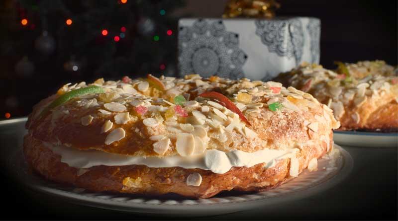 Roscón de Reyes ligero