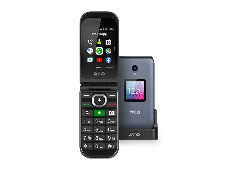 SPC Jasper1 - SPC Jasper: el smartphone para mayores con 4G, WhatsApp, Facebook, Google Maps y mucho más