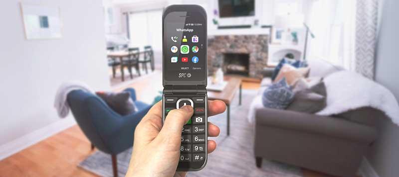 SPC Jasper3 - SPC Jasper: el smartphone para mayores con 4G, WhatsApp, Facebook, Google Maps y mucho más