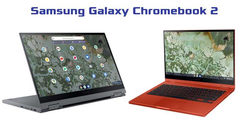 Samsung presenta Galaxy Chromebook 2