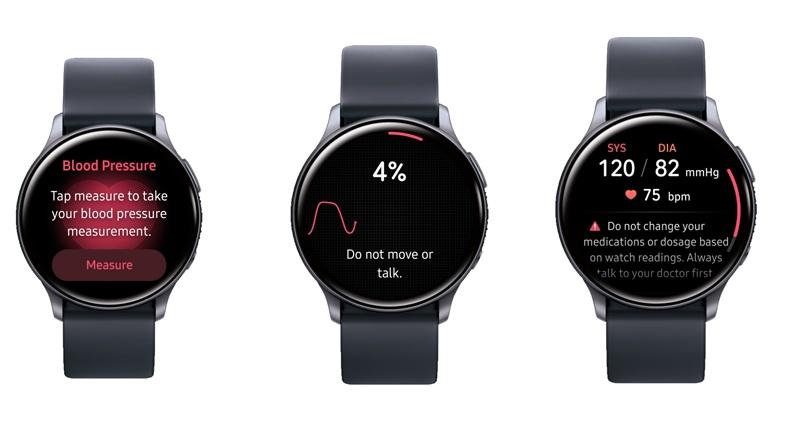Samsung Galaxy Watch - El Samsung Galaxy Watch puede medir tu presión arterial