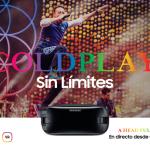 Samsung te lleva un concierto de Coldplay… ¡a tu casa!