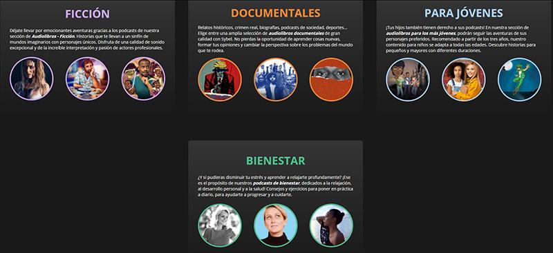 Sybel1 - Llega a España Sybel, la app de audioseries originales para todos los públicos