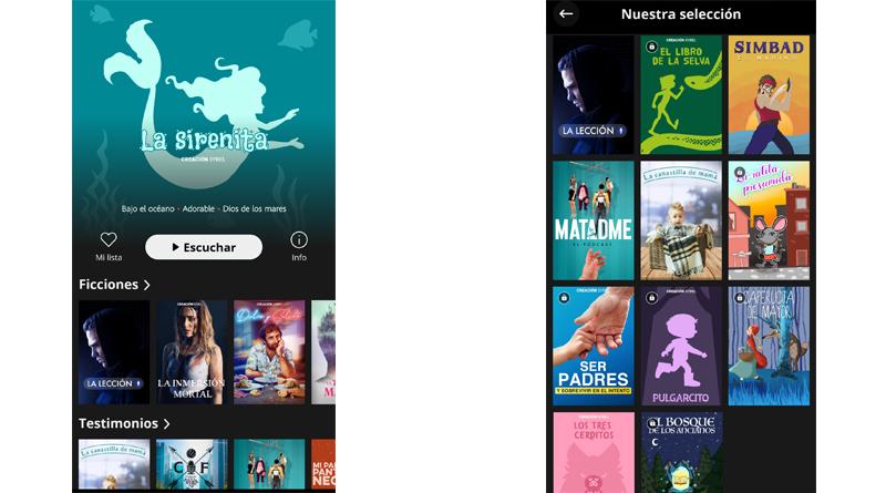 Sybel2 - Llega a España Sybel, la app de audioseries originales para todos los públicos