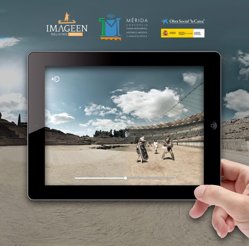 Teatro Merida Realidad Virtual 44 - Haz turismo al pasado del Teatro Romano de Mérida con la Realidad Virtual