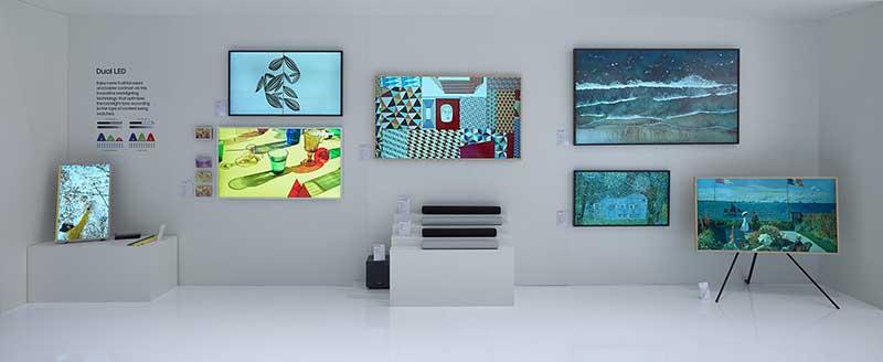 The Frame and S Series Soundbars 1 1 - Samsung se suma a la Cátedra de RTVE para lanzar la primera emisión piloto de señal UHD 8K