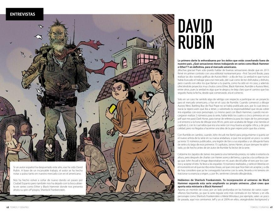 Tomos Y Grapas 5 - Tomos y grapas Magazine: la nueva revista de cómics