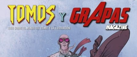 Tomos y grapas Magazine: la nueva revista de cómics