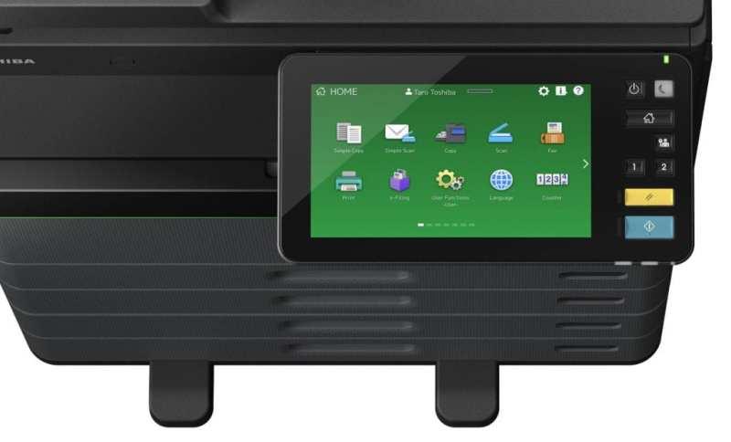 Toshiba presenta la impresora multifunción que borra y reutiliza papel impreso
