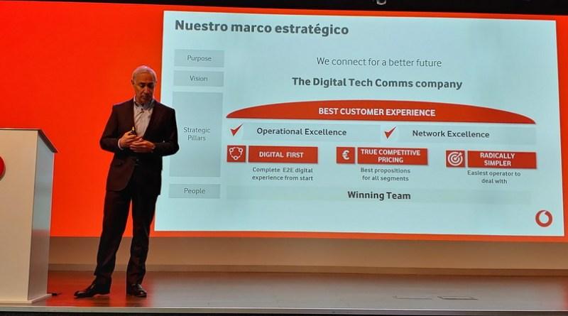 Vodafone presenta sus resultados financieros