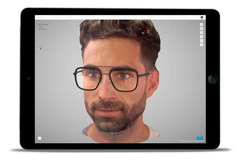 ZEISS VISUFIT 3 - La Realidad Virtual en 3D llega a las monturas de gafas: ZEISS VISUFIT 1000