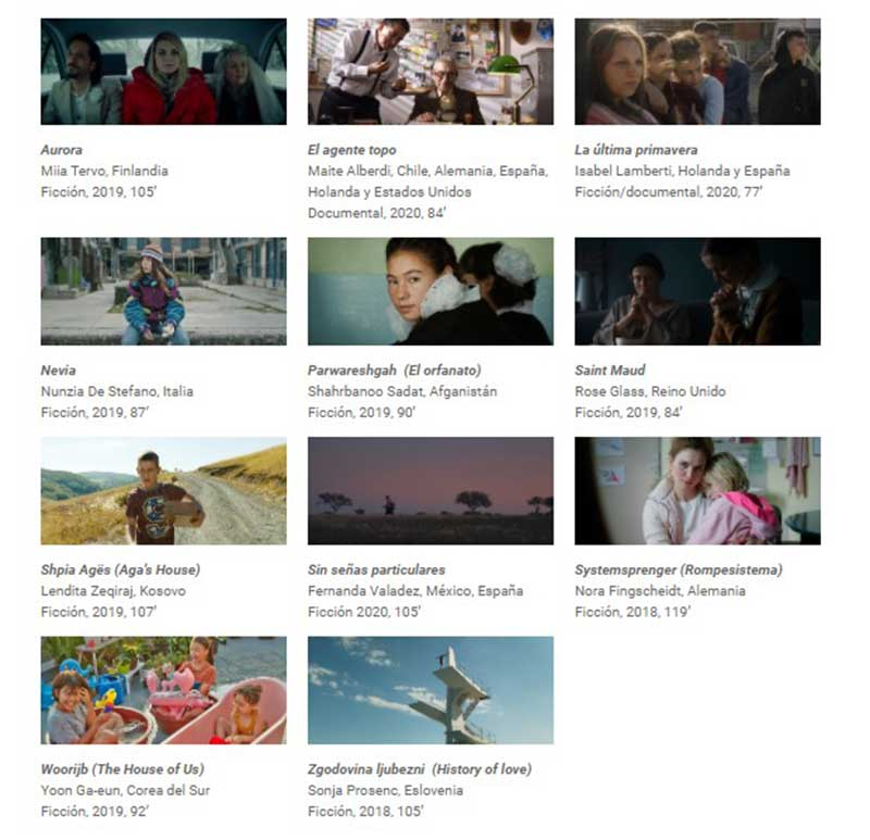 cine mujeres2 - 11 títulos internacionales para la Sección Competitiva del Festival Cine por Mujeres