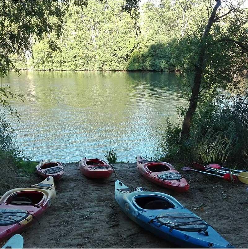 enoturismo 1 - Te proponemos el mejor plan: excursión enológica al Ebro en kayak