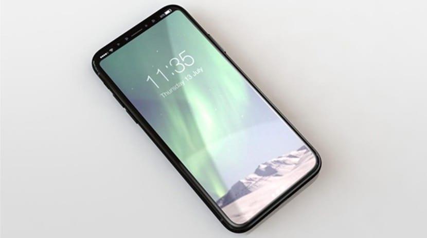 iPhone 8 - iPhone 8: pantalla sin bordes y reconocimiento facial