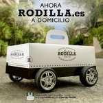 Rodilla inicia su servicio de entrega a domicilio (por fin)