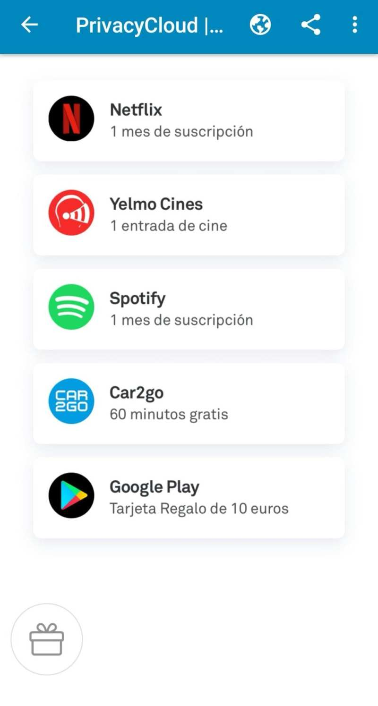 screenshot 20180721 0151318616821499354710004 - Una app española te ofrece Netflix gratis y entradas de cine a cambio de tus datos