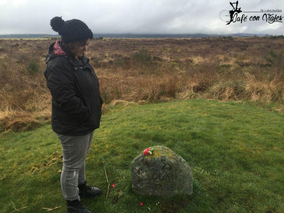 En la tumba del Clan Fraser