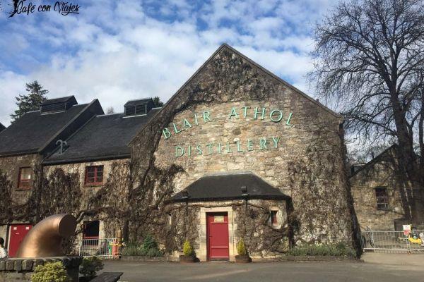 Visita a la destilería Blair Athol en Pitlochry