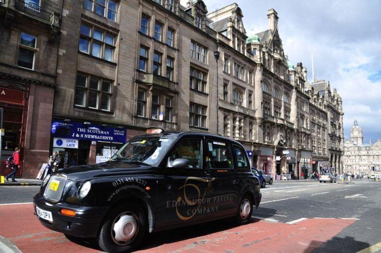 taxi-edimburgo