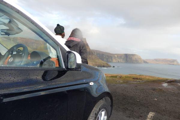 La experiencia de alquilar un coche en Escocia