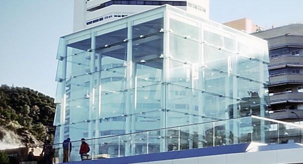 El-Cubo-sede-del-Centre-Pompidou-Malaga