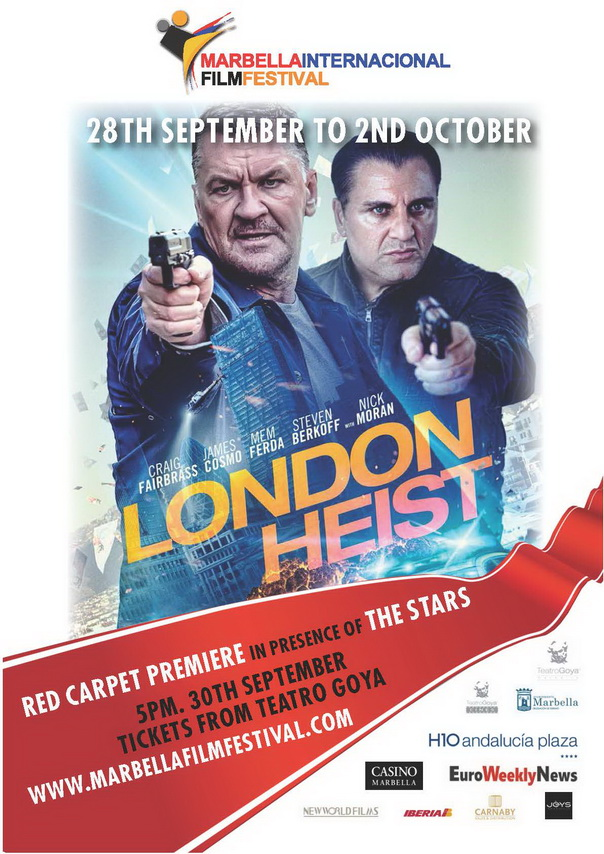 Film Festival London Heist