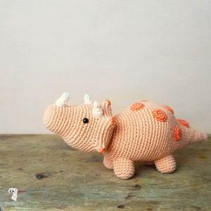 Haakpakket Triceratops