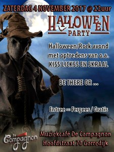 Halloween Party (met KISS Lickss & Skraal) @ Gorredijk | Friesland | Pays-Bas