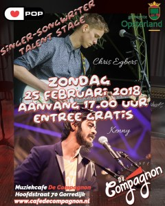 Talent Stage i.s.m. Poppodium Friesland.