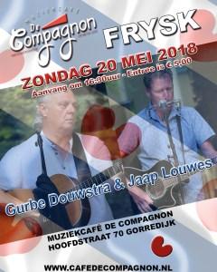 FRYSK (Gurbe Douwstra & Jaap Louwes) @ Café De Compagnon